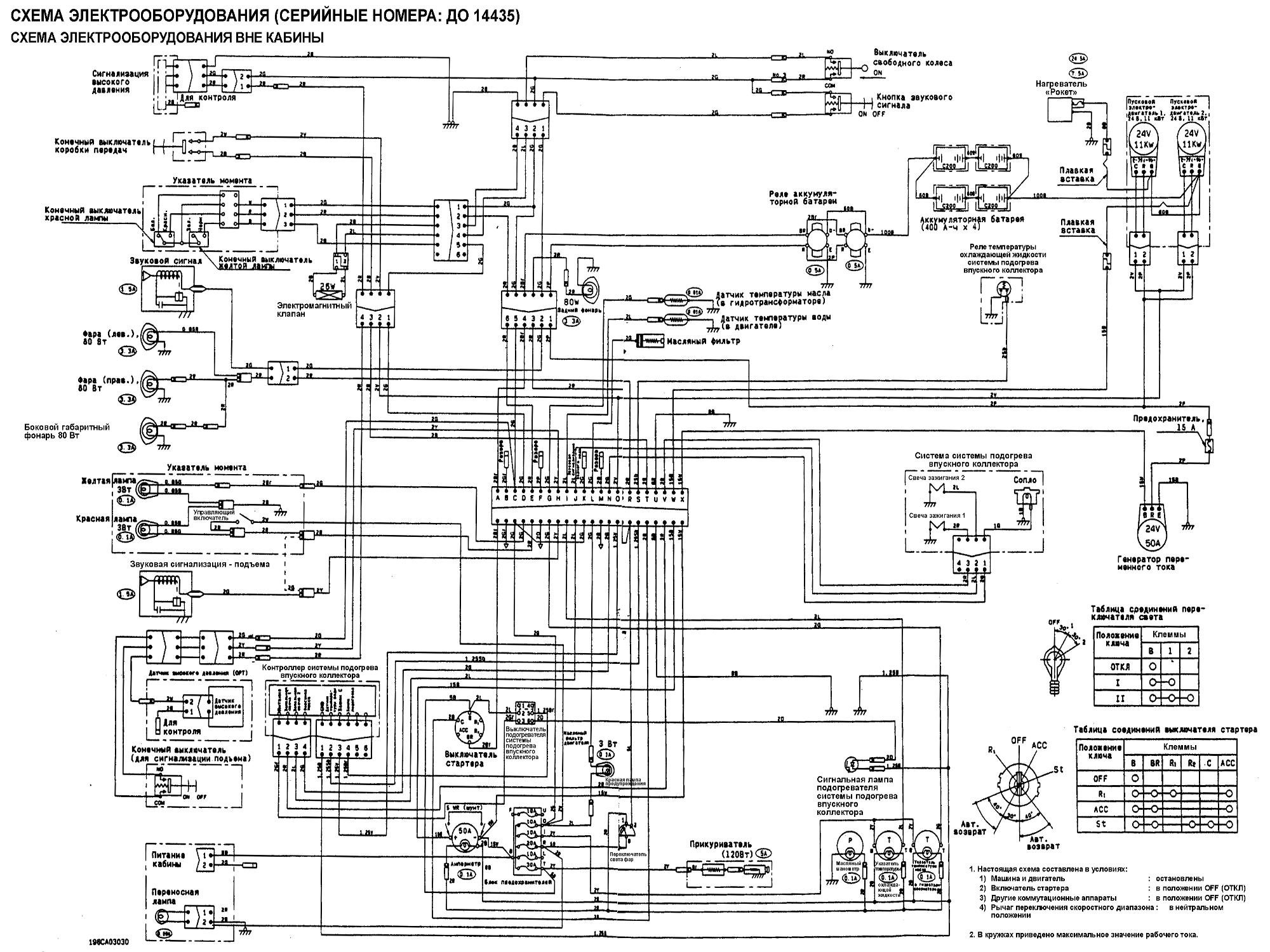 схема электрооборудования кобра кроссфаер