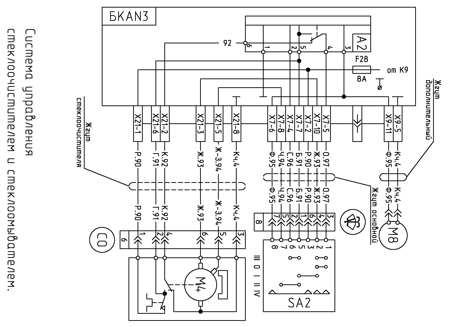 Схема подключения печки на мазе