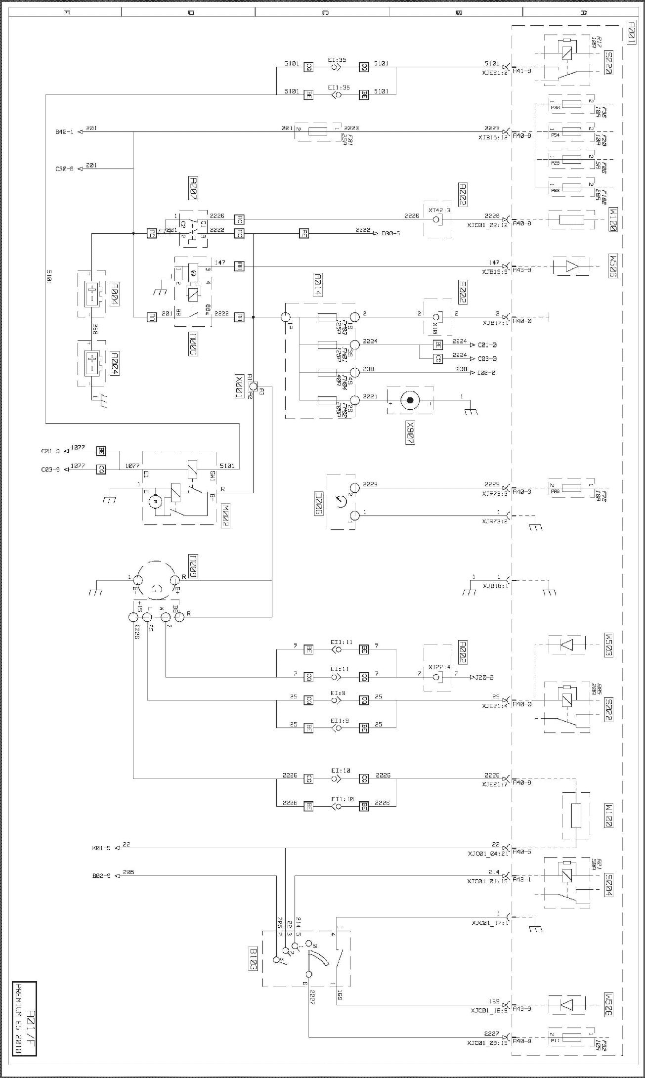Схема электрооборудования рено премиум фото 270
