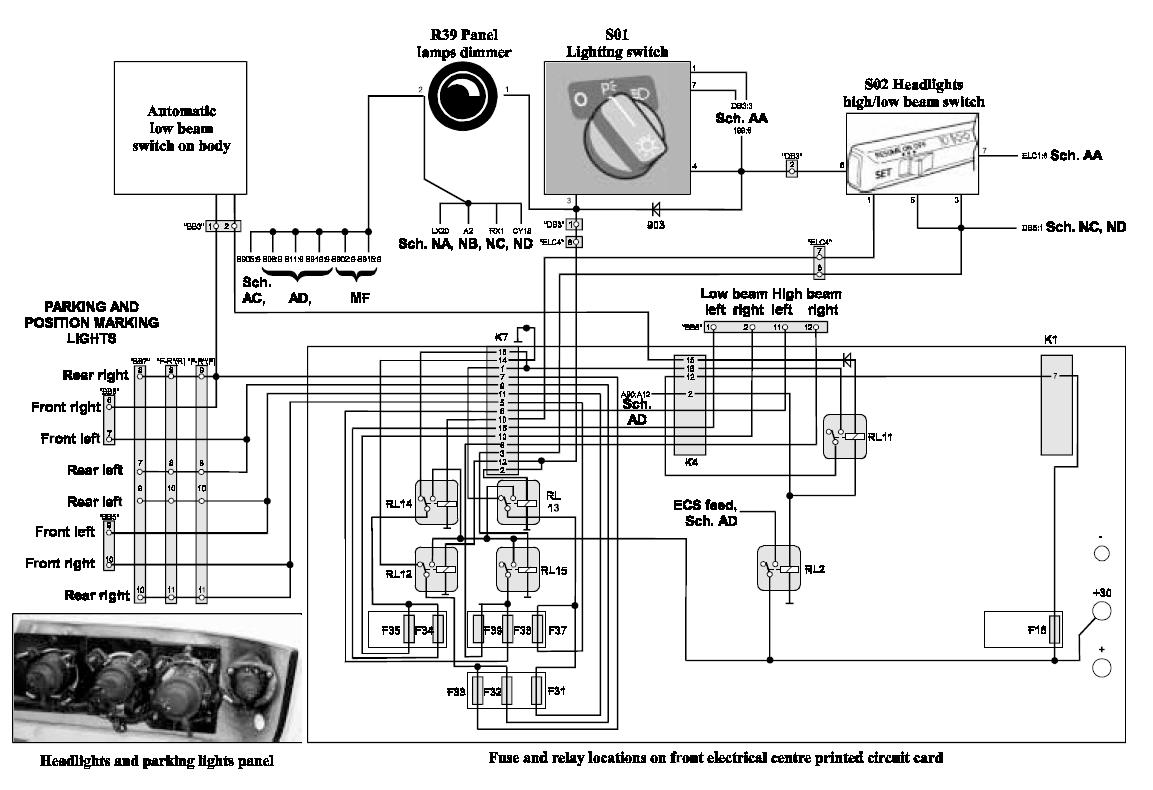Volvo B12 Wiring Diagram : Volvo b wiring diagram jeffdoedesign
