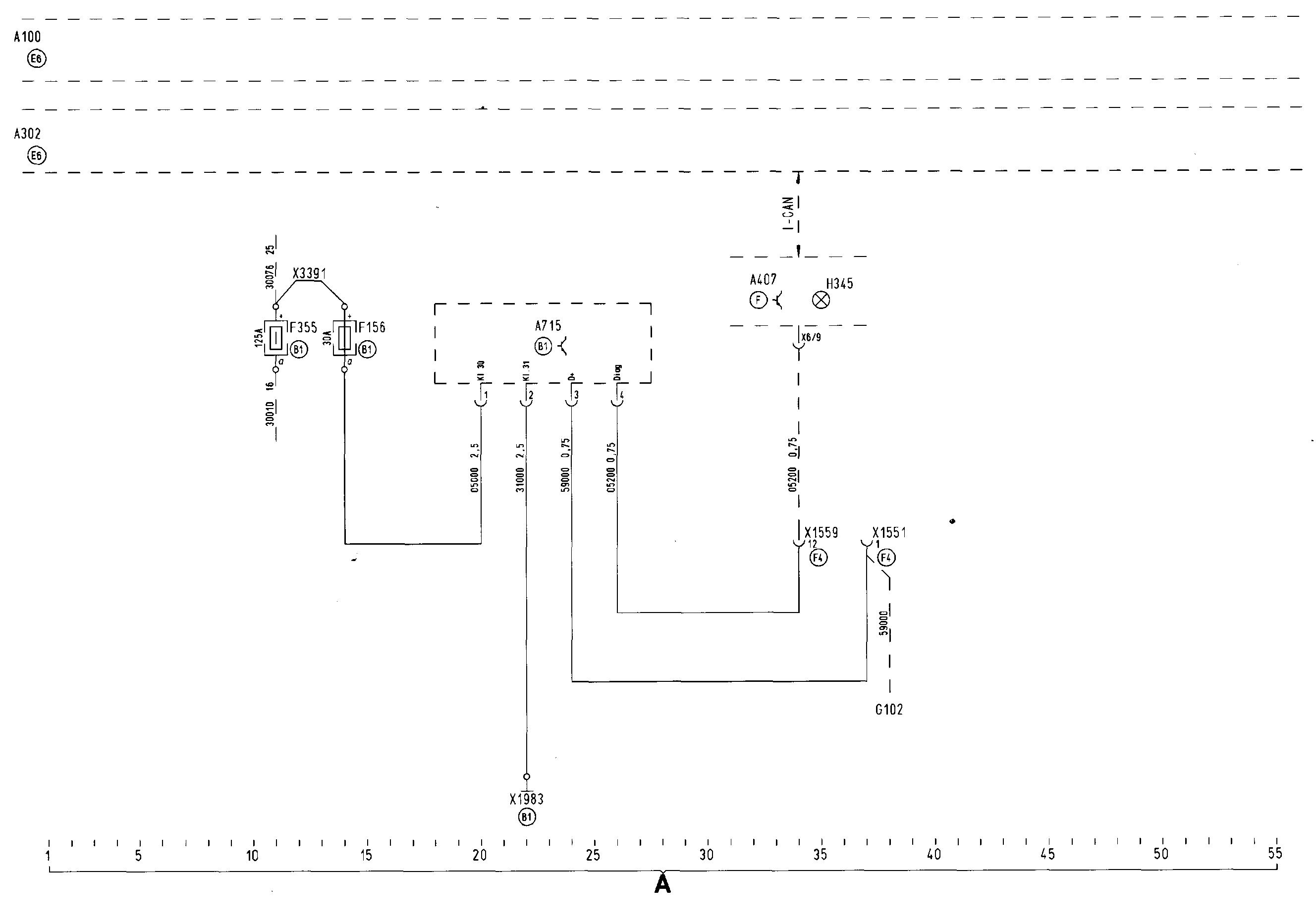 Схема топливная система man tgx