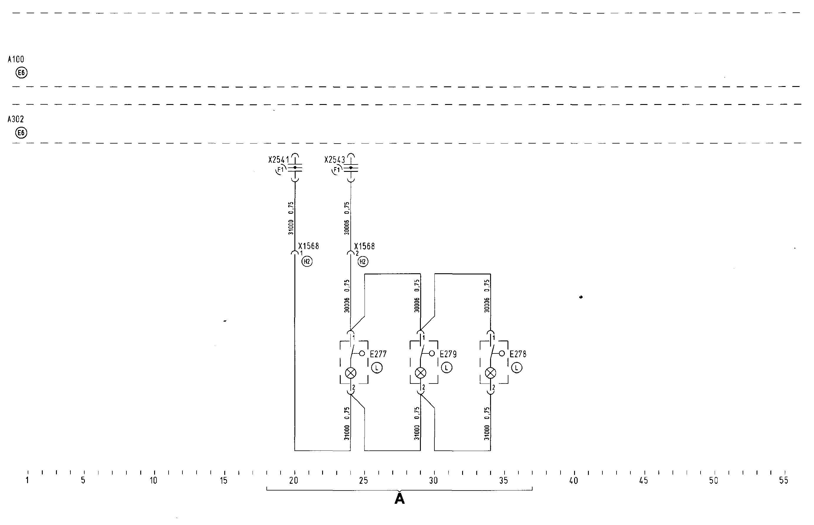 hyundai universe электрическая схема