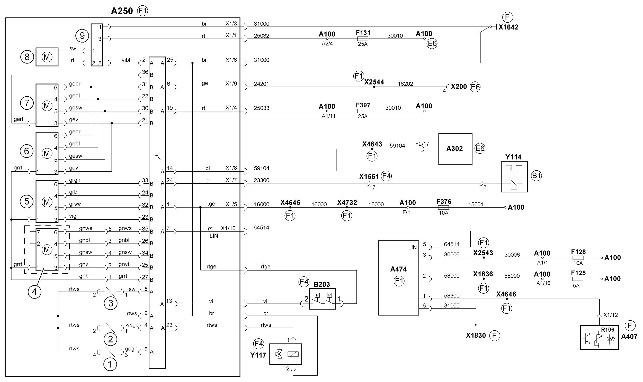 схема распределителя ек 18