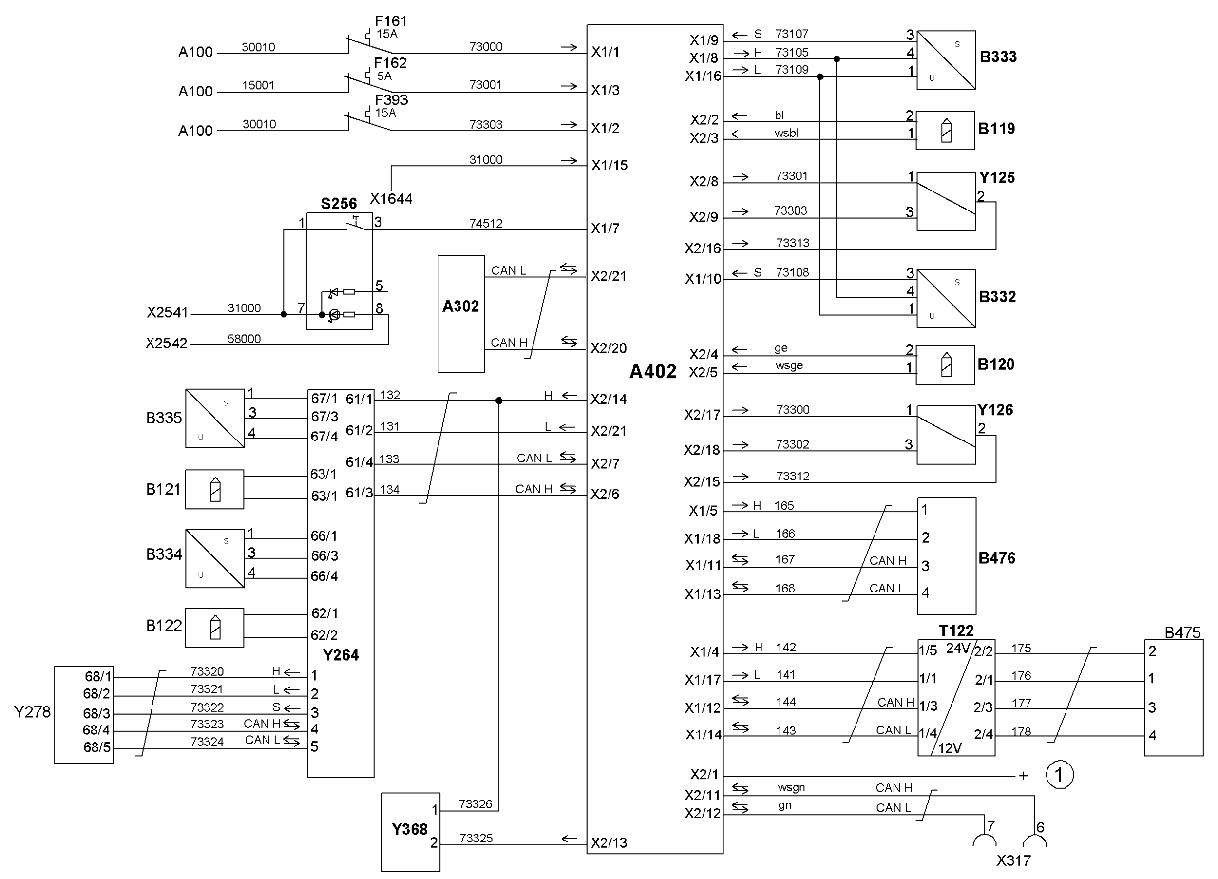 схема топливная система ман тга