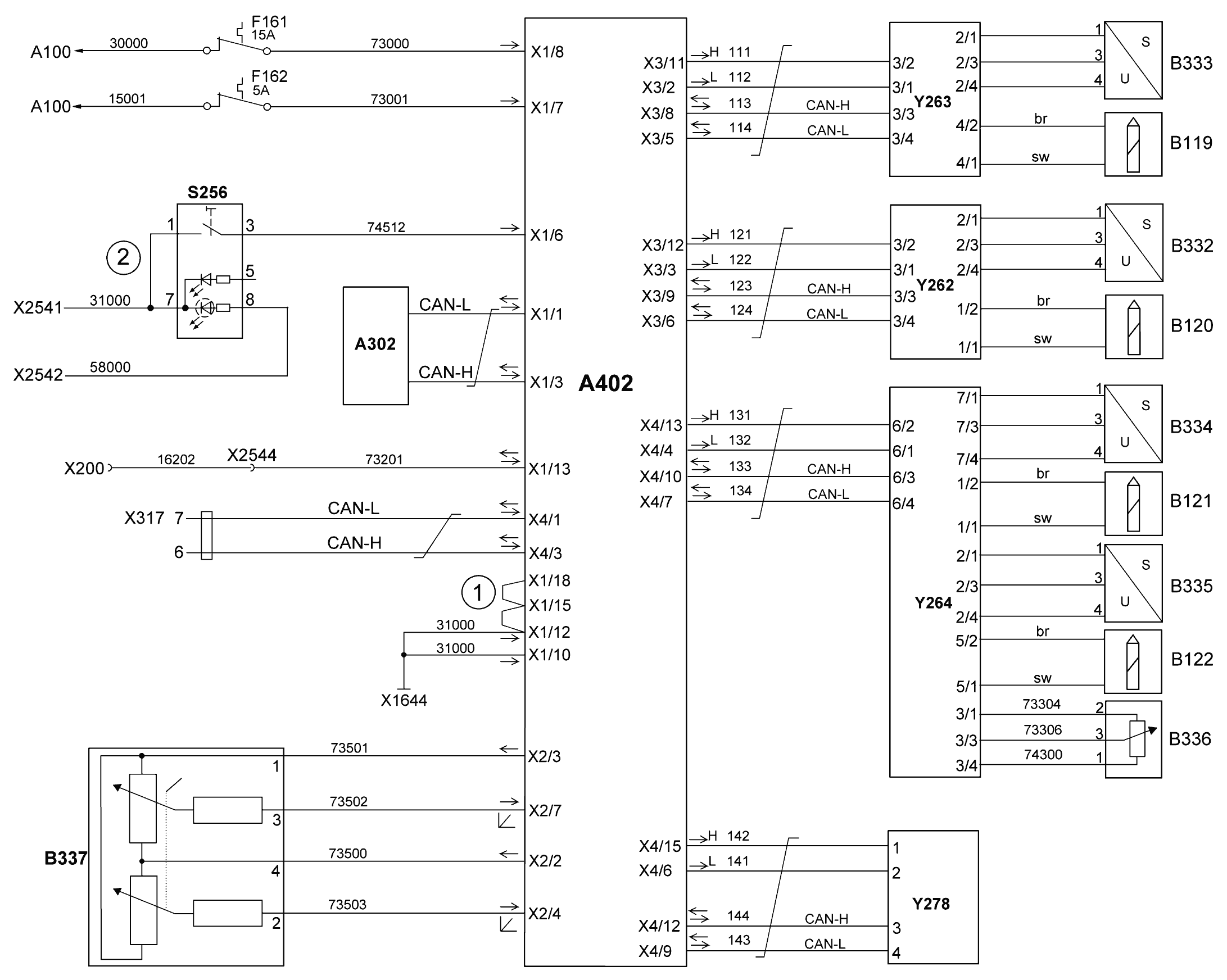 Электросхема EBS 2 KNORR MAN TGA - Автозапчасти и автоХитрости