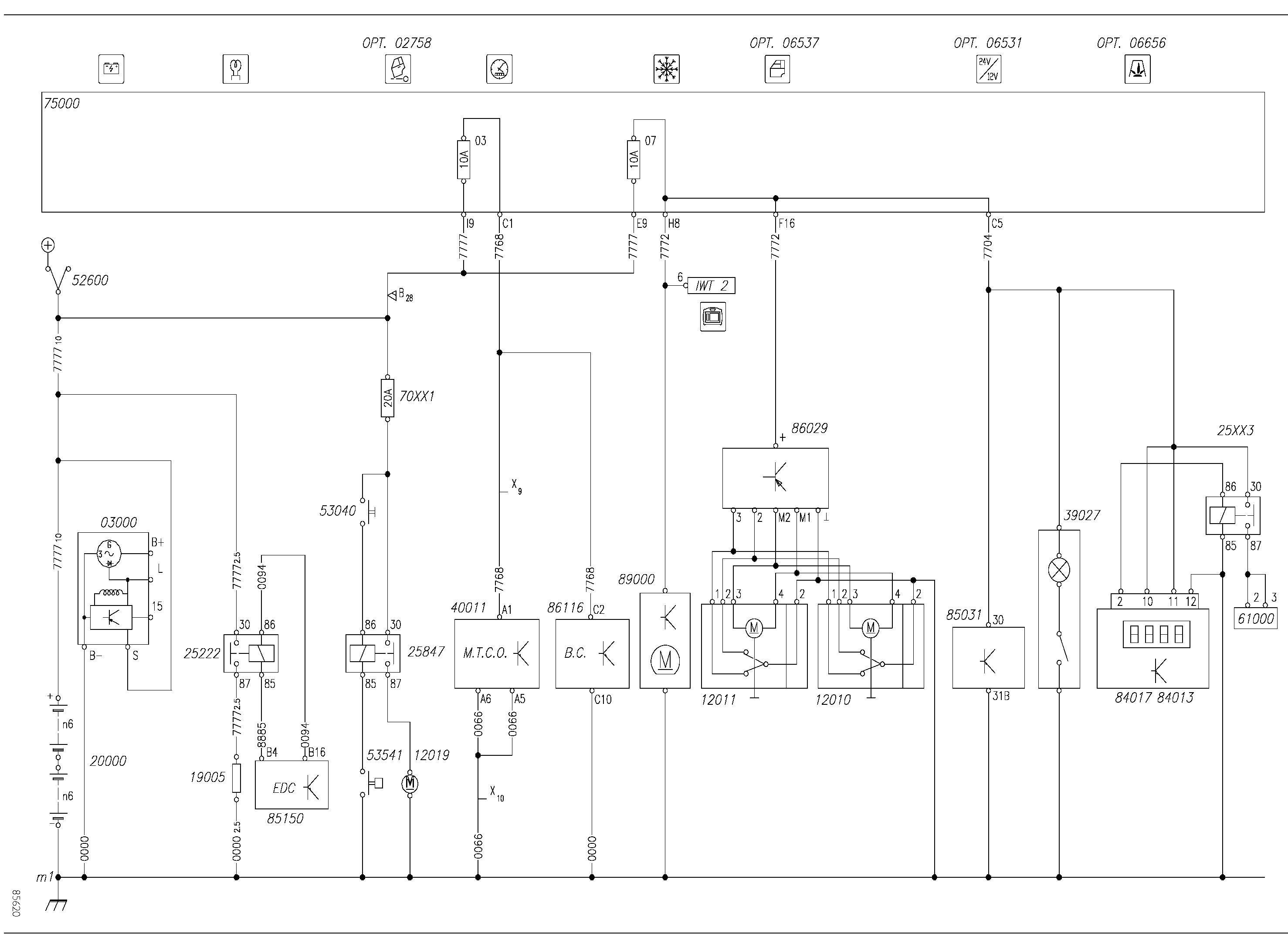 Схема подключения тахографа iveco.