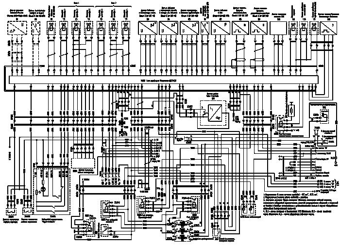 Принципиальная электрическая схема ямз