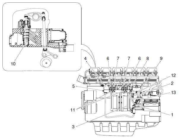 прокачка топливной система volvo f12