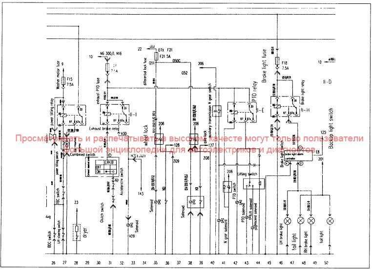 Схема предохранителей фотон 1049а