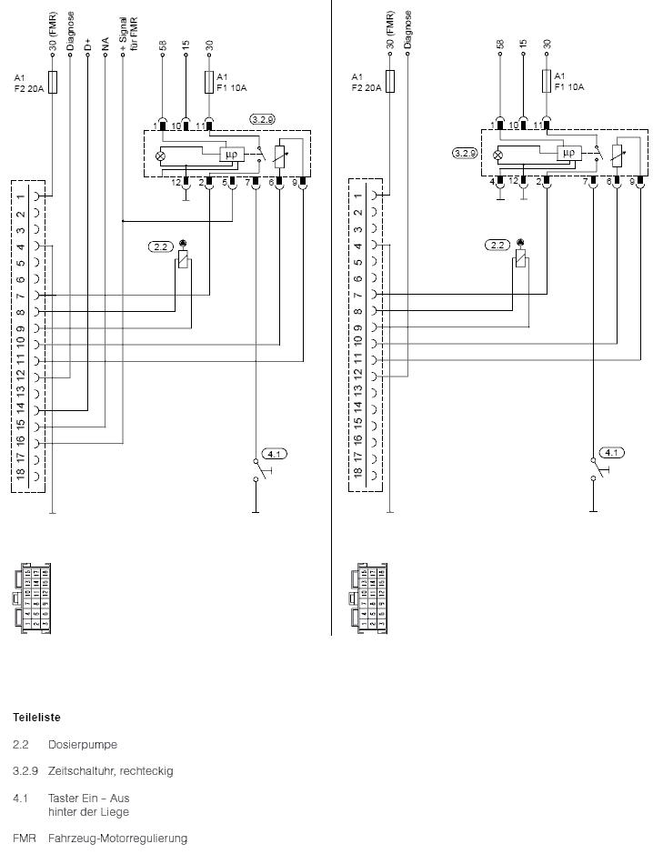 Установки Eberspächer на MB - Автозапчасти и автоХитрости