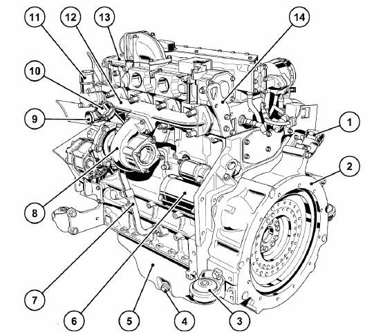 Diesel Engine Bomag
