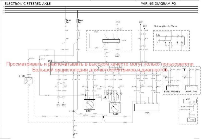 Схема электрооборудования вольво 960