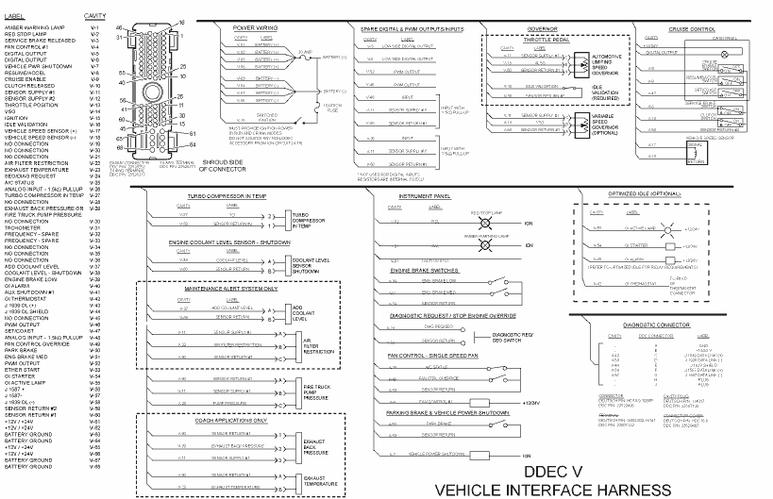diagrams wiring   detroit delta pressure sensor