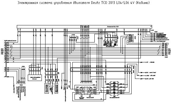 Схема на двигатель deutz