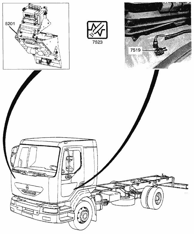 Hino Box Truck Schematic