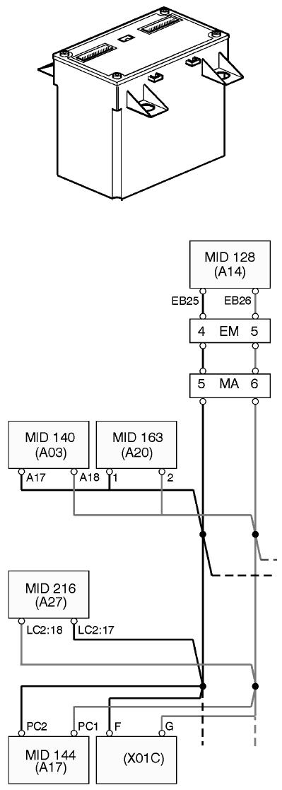MID 128 EECU Volvo Truck - Автозапчасти и автоХитрости