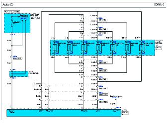 электрическая схема киа грандберд
